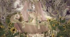 Bathtime (roxi firanelli) Tags: coco boudoir tlc littlebranch vco halfdeer analogdog hpmd delmay shinyshabby fantasyfaire2015