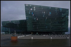 Reykjavik Opera House (2/2) (J-o-h-n---E) Tags: city travel holiday iceland downtown harbour reykjavik seafront operahouse awps aperturewoolwich