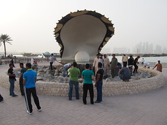 The Pearl Monument.
