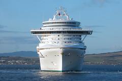 Caribbean Princess (.....cowboybuilder.....) Tags: greenock cruiseship caribbeanprincess