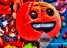 Jumbo plush pillow (mrgraphic2) Tags: marioncountryfair 2016 jumbo plush pillow fair carnival prize orange colorful funny