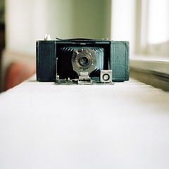 . (Ansel Olson) Tags: kodak brownie automatic folding camera antique vintage light radiator window c330 c330s mamiya sekor 80mmf28 6x6 120 film portra 400 mediumformat