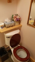 WhistleWood Farm B&B - Carriage House - Sunset Room (Vernon Brad Bell) Tags: bathroom sunsetroom whistlewood