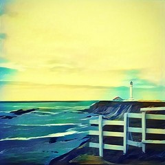 Point Arena Lighthouse (knorby) Tags: ifttt instagram prisma pointarena lighthouse california highway1