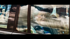 Queen on the Day of Brexit (TarSR-photography) Tags: uk england castle 50mm britain united streetphotography kingdom palace queen cinematography buckingham queenelizabeth royalfamily canon50mm cinematicphotography canon5dmarkiii brexit