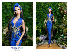"Aquatalis "" MOON RIVER "" by AlexNg (AlexNg & QuanaP) Tags: aquatalis moonriver by alexng jumpsuit for 12 fashion doll please visit our etsy store ordering wwwetsycomshopaquatalisboutique model jadore la fete elyse jolie photo quanap outfit"