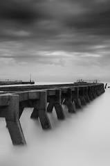 Advance (Upscape) Tags: southwold walberswick suffolk longexposure pier jetty bw blackandwhite 10stopnd nd110 sea water coast d90