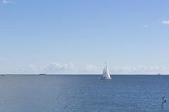 Hernesaaren ranta (jannaheli) Tags: ocean summer water suomi finland landscape helsinki ship meri maisema kes laiva vett nikond7200
