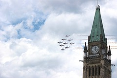 Passing behind the Peace Tower (HjMeegs) Tags: ottawa parliamenthill
