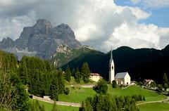 Santa Fosca (annalisabianchetti) Tags: italy mountains alps church montagne dolomites dolomiti veneto pelmo agordino