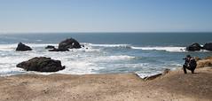 Only the waves (Michael Dunn~!) Tags: sanfrancisco water rocks photographer meta sutrobaths sfflickrmeetup photowalking photowalking20130224