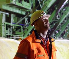The engineer in the tunnel 170A2664 (Ricardo Gomez A) Tags: engineer tunnel ingenieur bau construction construccion retrato portrait