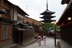 Yasaka Pagoda  (nyachimog) Tags: pagoda kyoto  kimono  yasaka   houkanji