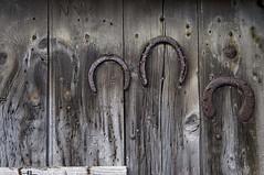 The Old Blacksmith's Forge, Chop Gate. (kendo1938) Tags: chopgate northyorkshire england gb forge door horseshoe oxshoe woodendoor blacksmith