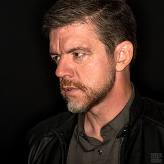 Self Portrait (WF portraits) Tags: aut selfie leather jacket beard dark black