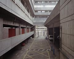 untitled, Southampton, 2016 ([Photom]) Tags: 120 film architecture mediumformat concrete modernism 6x7 brutalist kodakportra400 mamiya7ii topographics