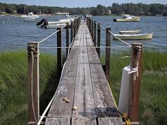 Three Stones (Steve Bosselman) Tags: dock pier harbor capecod