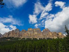 Castle Mountain (Wendy Cooper) Tags: 2016 banffnationalpark rockymountains castlemountain alberta
