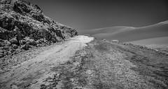 Salt Slick (G&R) Tags: chile atacama canon 5d3 salt desert valle luna valley moon black white