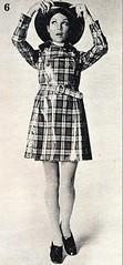 2016-08-03 1970 raincoat (april-mo) Tags: ad 1970s 70s lesannes70 vintage vintagefrenchmagazine vintagemagazine blackandwhitepicture fashionstory fashion raincoat 70sraincoat hat