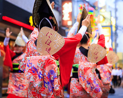 Koganei Awaodori 2016 (Apricot Cafe) Tags: awaodori canonef2470mmf28liiusm japan kimono koganeiawaodori musashikoganei nihoren tokyo dancing festival groupofpeople groupperformance instruments outdoors parading traditionalclothes traditionalfestival koganeishi tkyto jp img643390
