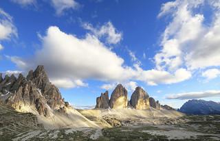 Dolomiti - Le tre Cime di Lavaredo ed il Monte Paterno