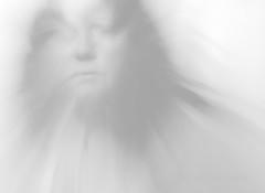 Shades of Grey - 2 (MacroMarcie) Tags: motion slowshutter shadesofgrey grey gray tones tonal project365 365 me self selfie selfportrait macromarcie marcie marcielynn brightness contrast whispy