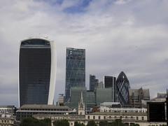 The city (LoriXavi) Tags: london city finance sky skyscrapper gherkin architecture