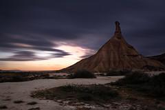Bardenas (virginie kriegel) Tags: bardenasrealesdenavarra spain espagne desert montain montagne rock cloudsstormssunsetssunrises clouds sunrise canonphotography