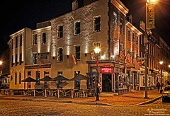 The Admirals Cup, a tavern in Fells Point, Baltimore MD (PhotosToArtByMike) Tags: fellspoint baltimore maryland md thamesstreet admiralscup cobblestonestreet tavern fellspointnationalhistoricdistrict historicwaterfront waterfrontcommunity storefronts 18thand19thcenturyhomes baltimoreharbor maritime