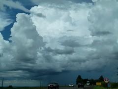 (IgorCamacho) Tags: road sky storm cars weather brasil clouds cu southern estrada cielo nubes carros tormenta nuvens thunderstorm tempo sul severeweather clima tempestade supercell suldobrasil