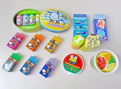 282 (alexandre laguna) Tags: eraser sanrio erasers keroppi pochacco