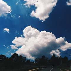 If you were a cloud... (Erland Howden) Tags: sky cloud mobile landscape bluemountains leura hb2 erlandhowden nexus5 vscocam