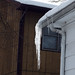 One of many Ice Burdens that the house has due to shitty or non-existent gutters