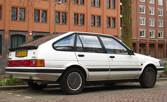 1986 Toyota Corolla Liftback 1.3 SXL Automatic (rvandermaar) Tags: automatic toyota 1986 13 corolla sxl e81 toyotacorolla e80 liftback ae80 ae81 sidecode4 rf02gf