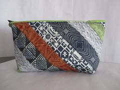 UtensilTaschen blau-grün (blauer_jeansstern) Tags: rot grün blau tasche weis täschchen kosmetiktasche stiftetasche kleineendlosreisverschlustasche