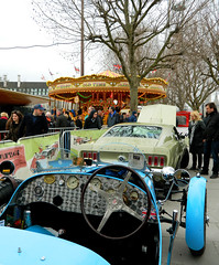 VINTAGE Classic Car Boot Sale - London (2015) (Cobra Stallone De $ouza) Tags: london vintage teal londoneye bigben southbank bugatti classiccars mothersday carbootsale thethames t35 bugattitype35 tealtype35 vintageclassiccarbootsale