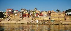 Varanasi (toshu2011) Tags: life city travel light india heritage tourism water canon river