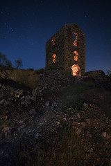 DE REGRESO A LA MINA... (Der_Golem_) Tags: lightpainting flash mina ruinas linares nocturna jaen abandonado 2015 sanadriano