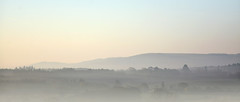 Dawn over The South Downs near Midhurst, West Sussex (Simon Verrall) Tags: uk morning mist sunrise landscape dawn westsussex hills april midhurst morningmist petworth riverrother 2015 thesouthdowns