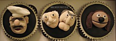 The Muppets cup cakes