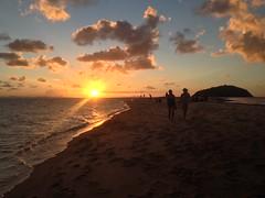 Coucher de soleil sur Langford Island