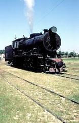 71  Qasir um EL - Heeran  23.05.83 (w. + h. brutzer) Tags: analog train nikon eisenbahn railway zug trains jr 71 steam locomotive jordanien dampflok lokomotive eisenbahnen dampfloks webru qasirumelheeran
