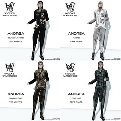 Wicca's Wardrobe - Andrea (all4) (Wicca Merlin / Wicca's Wardrobe) Tags: new urban woman news art fashion pose blog 3d clothing model photographer modeling avatar style blogger sl secondlife casual couture rp modelpose cyber roleplay hooded highfashion newrelease virtualworld newreleases modelposes femaleclothing asassin slfashion 3dpeople slclothing slstyle modelingpose modelingposes fashionposes wiccamerlin femalewear wiccaswardrobe metavirtual fashioninpixels