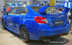 2015 Subaru Impreza WRX (Next Base  Taishi) Tags: world city autoshow center international subaru manila older trade impreza wrx pasay 2015