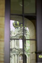 Reflektion (clearfotografie) Tags: detail deutschland dresden zwinger nikon spiegelung reflektion denkmal afsnikkormicro10528gifed