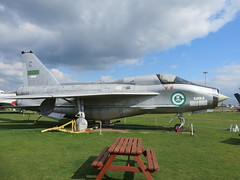 55-713 ZF598 Midland Air Museum 19 April 2015 (ACW367) Tags: coventry englishelectric midlandairmuseum royalsaudiairforce 55713 zf598 lightningt55