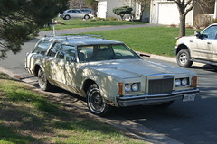 1978 Lincoln Continental Mark V Station Wagon (DVS1mn) Tags: spring tour garage cca 2015 classiccarclubofamerica