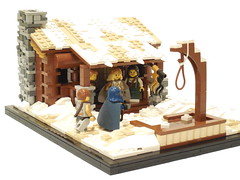 LOM: Military Builder Challenge II (Armon Russ) Tags: snow cabin gallows lom execution