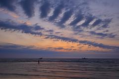Waiting for the new day (Antonio Cinotti ) Tags: marinaromea ravenna nikon nikond7100 nikon1685 italia italy emiliaromagna romagna sunrise dawn alba seascape clouds cloudporn sea beach